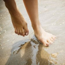 Bare Feet In The Sand